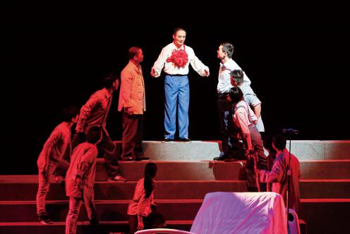 京剧现代戏《生死愿》