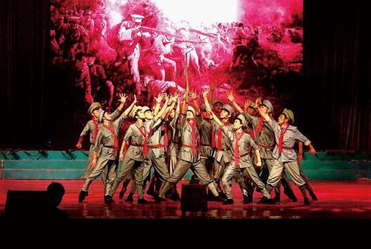 大型情景歌舞《红色记忆》